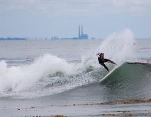 Matt Surfing