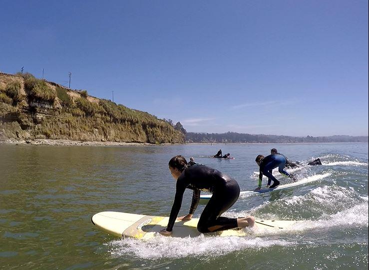 Liam Santa Cruz Surfing