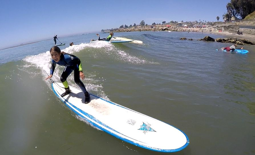 Santa Cruz Surfing Olivia Lusby
