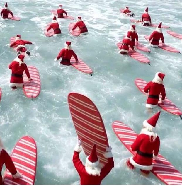 Surfin Santa Capitola Beach Company